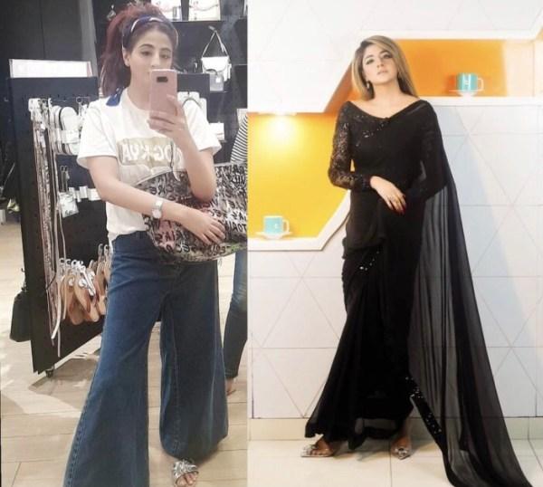 Fatima Sohail's Physique Transformation Photos