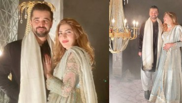 Naimal, Hamza Ali Abbasi Stunning ClicksNaimal, Hamza Ali Abbasi Stunning Clicks