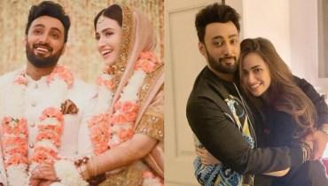 Sana Javed Wishes Umair On Birthday Romantic Picture
