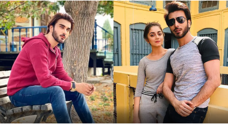 Actor Imran Abbas Breaks Silence On Marrying With Alizeh Shah