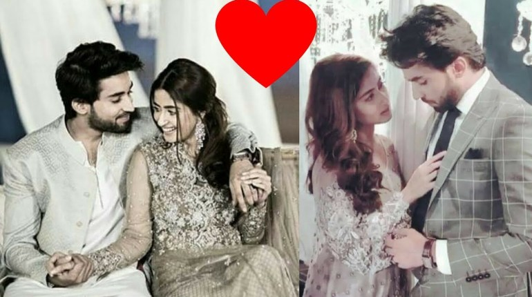 Sajal Ali And Bilal Abbas Khan Romantic Pictures