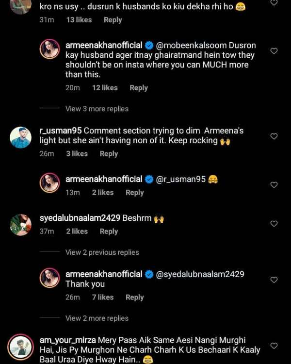 Actress Armeena Khan Life Threats After Uploading Bold Photo