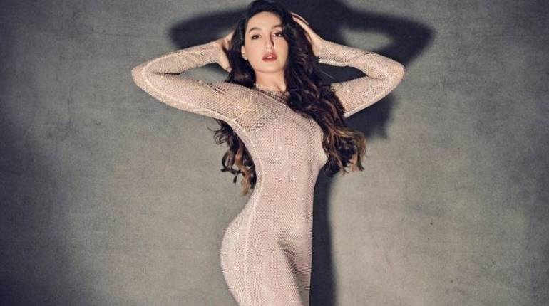 Nora Fatehi new bold video in see through dress goes viral