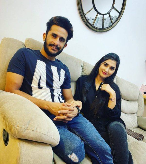 Pakistani bowler Hassan Ali Shared The Big News With Fans