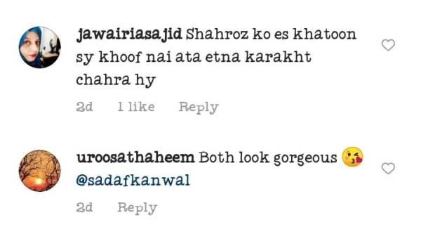 Sadaf Kanwal And Shahroz Sabzwazri face Public Criticism
