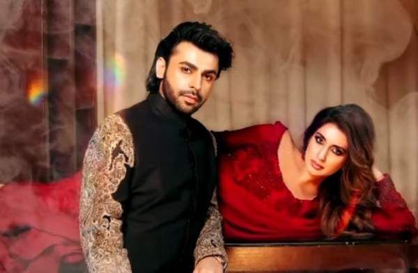 Iman Ali And Farhan Saeed Hot Photoshoot
