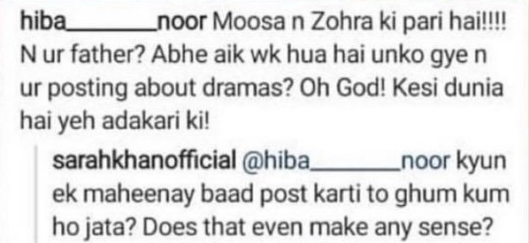 Pakistani Actresses Abused On Instagram For Their Personal Lives