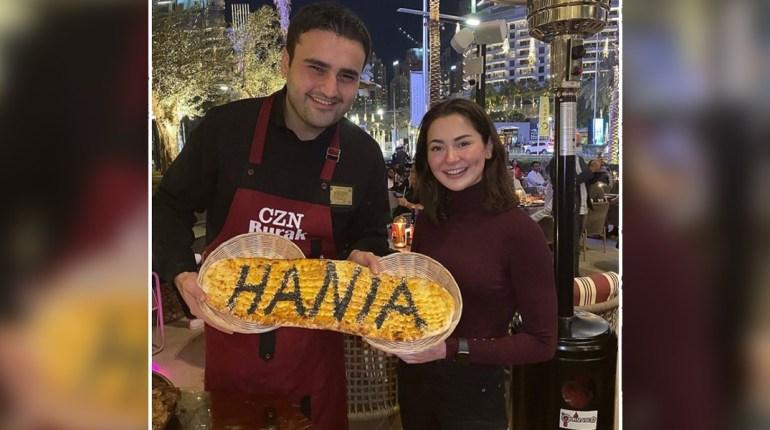 Hania Amir Meets Famous Turkish Chef CZN Burak