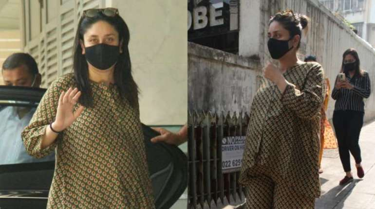 Mommy to be Kareena Kapoor Khan snapped post clinic visit