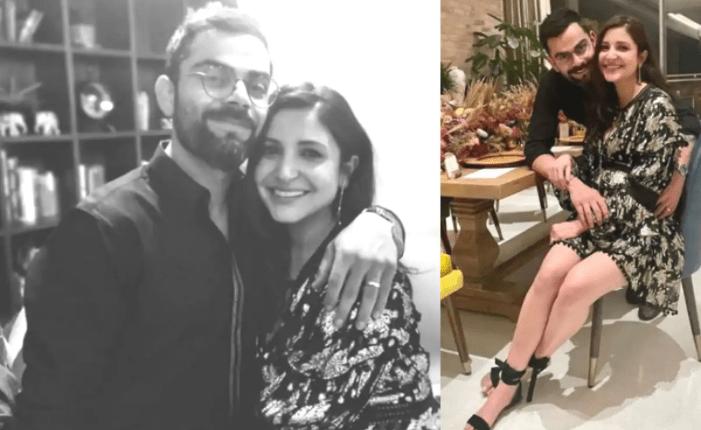 Anushka Sharma and Virat Kohli Spend New Year With Friends