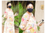Pregnant Kareena Kapoor shows off baby bump in this midi