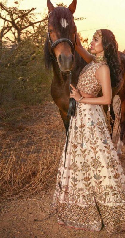 Actress Sara Loren Teases Fans with Desi Looks