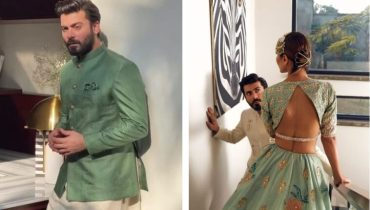 Fawad Khan looks adorable in shoot for wife Sadaf Khan Brand
