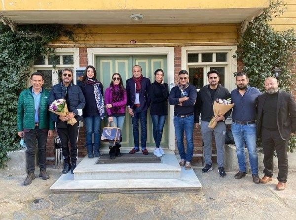 Reema Khan gets warm welcome from Ertuğrul team in Istanbul