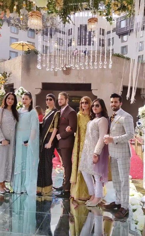 Aima Baig On Her Boyfriend Shahbaz Shigri Sister Wedding