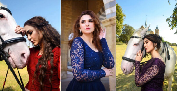 Yumna Zaidi Enchants Fans in a Fairytale Shoot