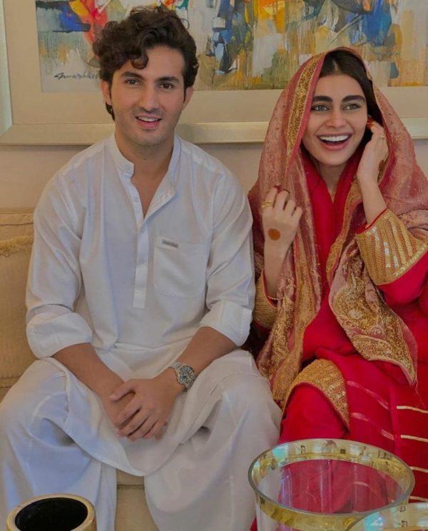 Sadaf Kanwal And Shehroz Sabzwari Shared Their Love Story