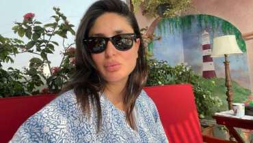 Kareena Kapoor Khan looks stunning in Kaftan Dress