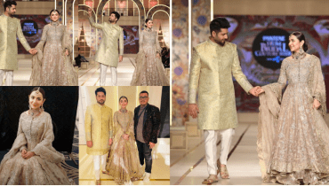 Imran Ashraf and Yumna Zaidi Walk on Ramp at BCW