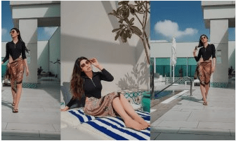Actress Eshal Fayaz Enjoying Vacations In Dubai