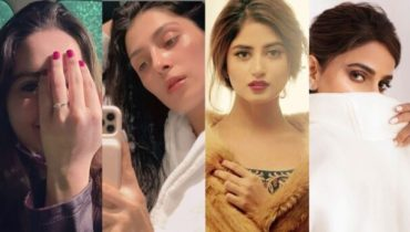 Trendy Nail Colors Worn by Pakistani Celebrities