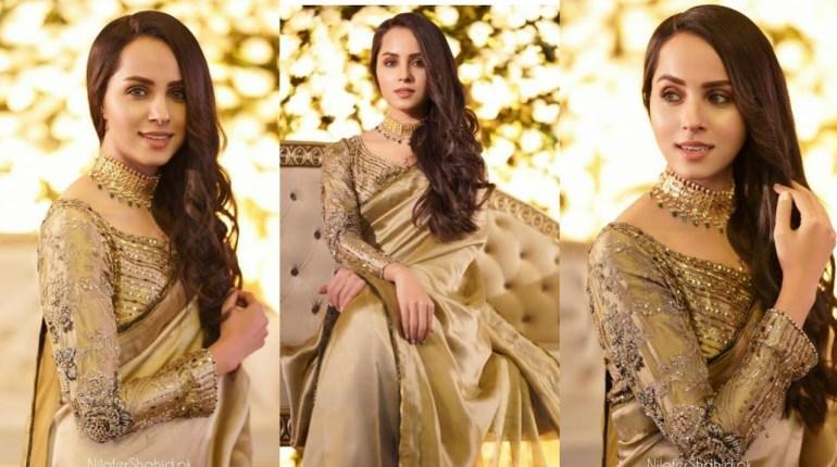Nimra Khan Looks Ravishing On A Recent Wedding Event