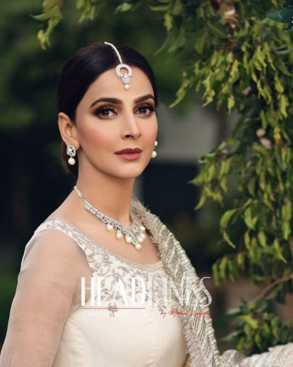 Saba Qamar recently took to Instagram to tell Headlines Official about the bride's amazing clicks. The actress looked ethereal in her all-white ivory ensemble. Fans can get a glimpse of Saba Qamar's wedding after announcing their relationship with Azeem Khan. Check out these beautiful clicks