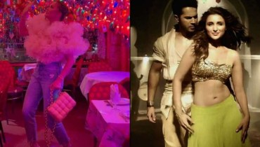 Chrissy Teigen Dances On Bollywood Song