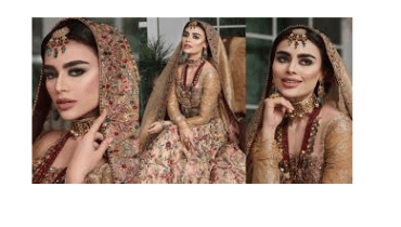 Sadaf Kanwal Shows Royalty In Her Latest Bridal Shoot