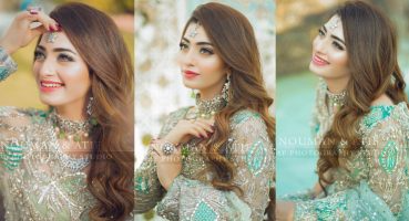 Actress Nawal Saeed Latest Shoot In Pakistani Bridal Dress