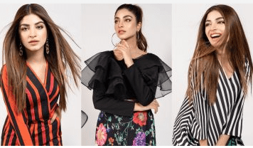 Kinza Hashmi Featured In Lulusar Latest Collection