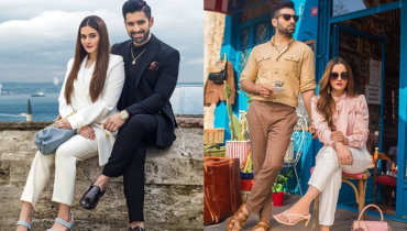 Aiman Khan and Muneeb Butt Rock Borjan in Istanbul