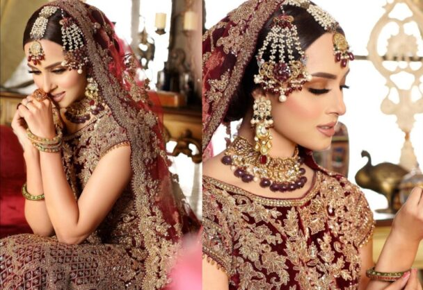 Nimra Khan Dazzles Fans With Her Bridal Shoot
