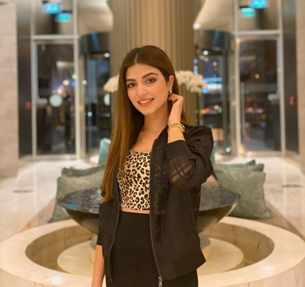 Kinza Hashmi Carries Western Outfits With Confidence