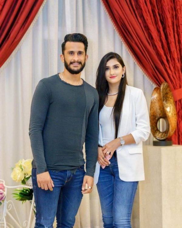 Hassan Ali daughter pic are currently circulating on social media