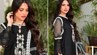 Neelam Muneer Is a Vision In Black Desi Attire