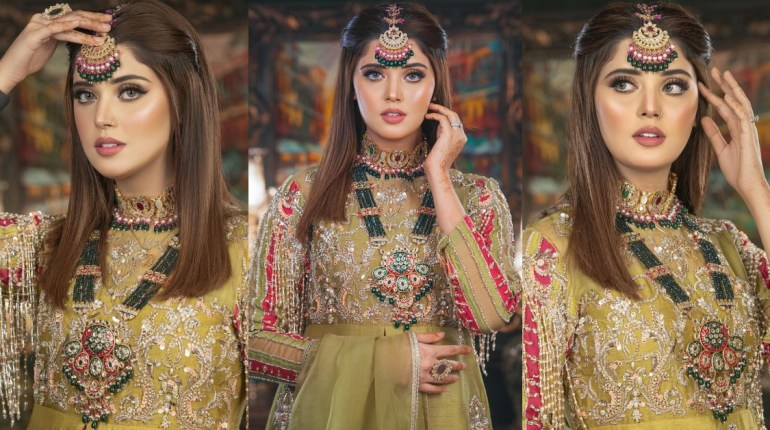 Kanwal Aftab Dolled Up In A Gorgeous Bridal Look