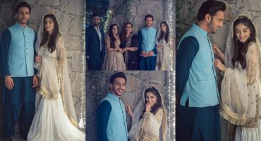 Another Celebrity Zainab Shabbir And Usama Khan Ties A Knot