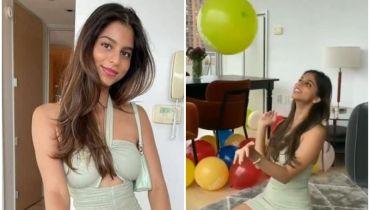 King Khan daughter Suhana Khan 21st birthday blast
