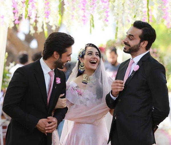 Sarah Khan Gives Princess Vibes In an Ethereal Dress