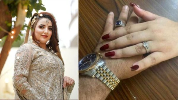 Hareem Shah Engagement Ring Photo Solved The Mystery