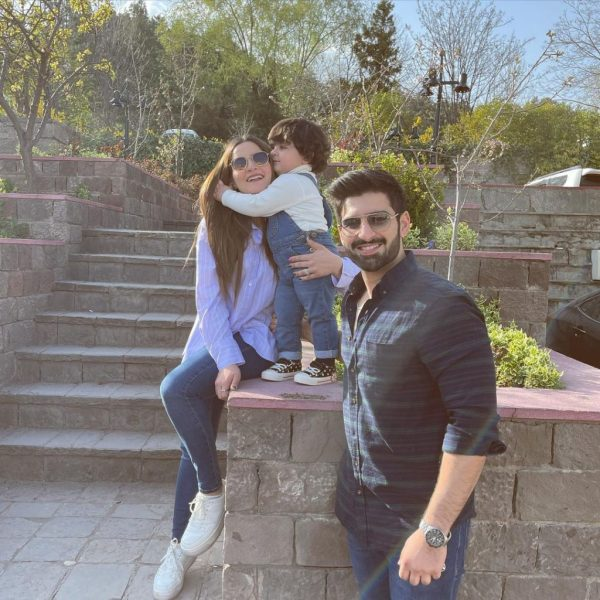 Aiman Khan Shares Adorable Pictures Of her Daughter Amal