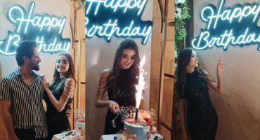 Model Ayesha Khan Celebrates Her Birthday Bash With Friends