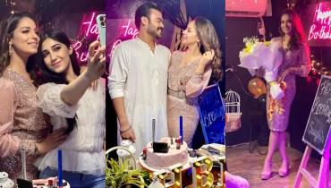 Actress And Model Sukynah Khan Celebrating Birthday Bash