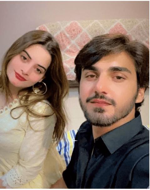 Lovebirds Minal Khan And Ahsan Moshin Dating Each Other