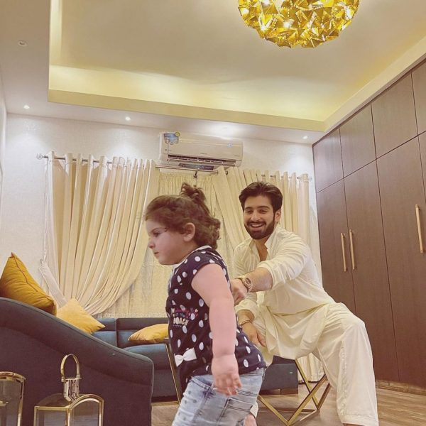 Muneeb Butt gets dragged by little Amal in new photos