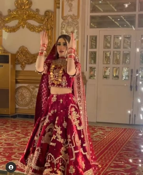 New Trend Introduce For Bridal Entry At Her Wedding