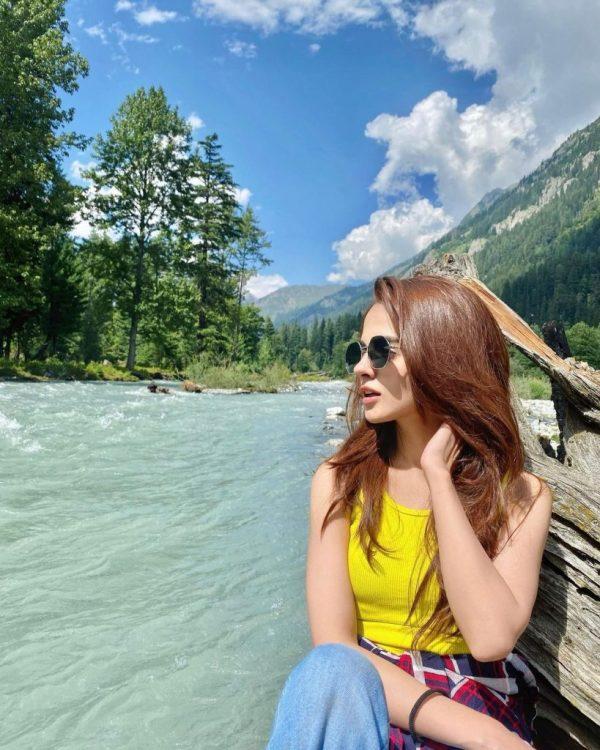 Komal Meer Enjoying Her Vacations In Northern Pakistan