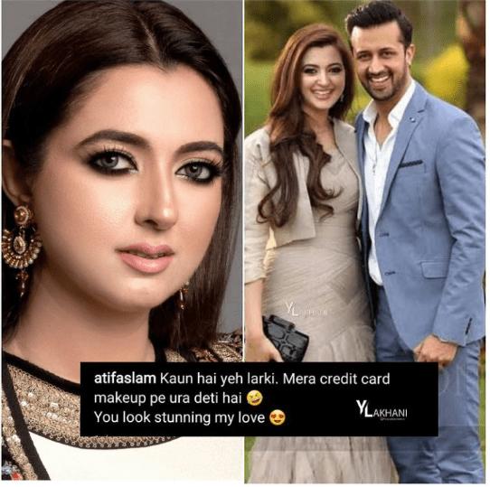 Atif Aslam Shows Love For His Wife Sarah Bharwana