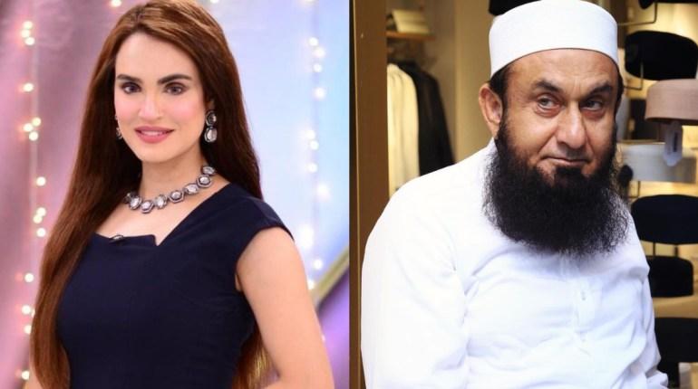 Nadia Hussain Wants Maulana Tariq Jamil to join her on live